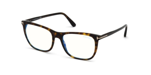 Tom Ford TF5672-B Blue Control TF 5672-B 052 Dark Havana