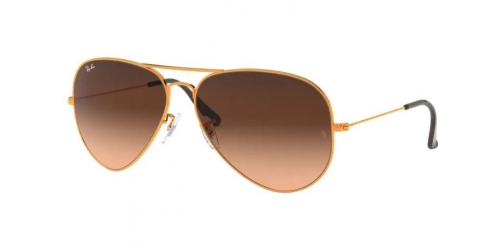 Ray-Ban AVIATOR METAL LARGE II RB3026 9001A5 Shiny Light Bronze