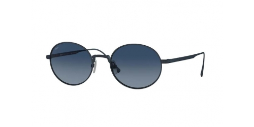 Persol Persol PO5001ST JAPANESE TITANIUM PO 5001ST 8002Q8 Brushed Navy