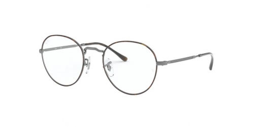 Ray-Ban RX3582V RX 3582V 3034 Top Havana on Gunmetal