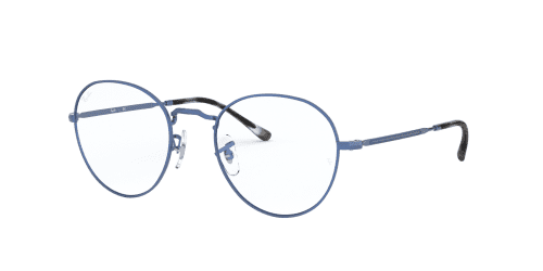 Ray-Ban RX3582V RX 3582V 3071 Sand Transparent Blue