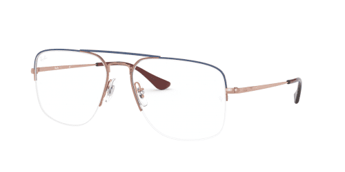 Ray-Ban Ray-Ban THE GENERAL GAZE RX6441 3049 Blue on Copper