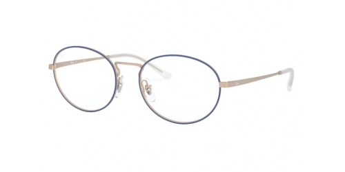 Ray-Ban RX6439 3053 Blue on Copper