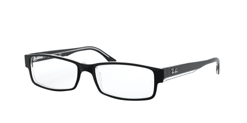 Ray-Ban Ray-Ban RX5114 2034 Top Black on Transparent