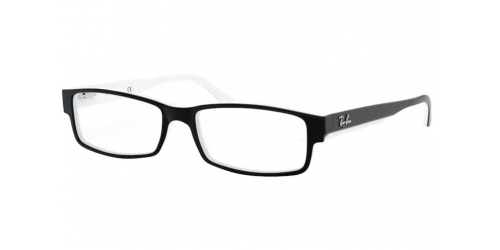Ray-Ban RX5114 2097 Black and White
