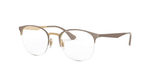 Ray-Ban Ray-Ban RX6422 3005 Gold on Matte Beige