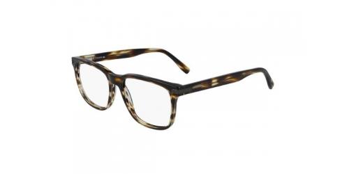 Lacoste L2840 L 2840 210 Striped Brown
