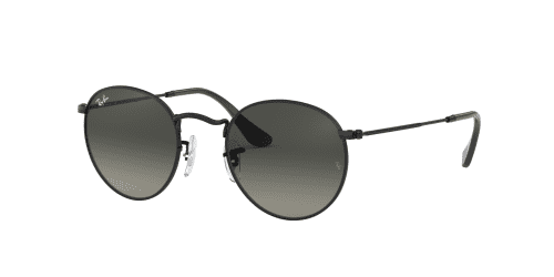 Ray-Ban ROUND METAL RB3447N RB 3447N 002/71 Black