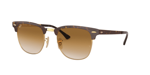 Ray-Ban CLUBMASTER METAL RB3716 900851 Gold Top Havana