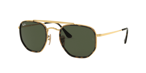 Ray-Ban THE MARSHAL II RB3648M RB 3648M 001 Gold