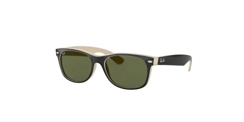 Ray-Ban Wayfarer RB2132 875 Top Black on Beige