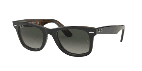 Ray-Ban Wayfarer RB2140 127771 Top Grey on Havana