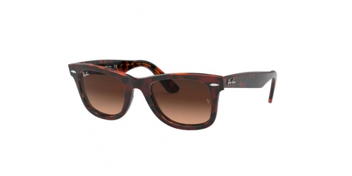 Wayfarer RB2140 Wayfarer RB 2140 127651 Top Brown on Yellow Havana