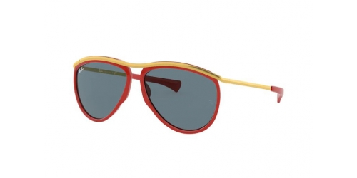 Ray-Ban Ray-Ban OLYMPIAN AVIATOR RB2219 1243R5 Red/Gold