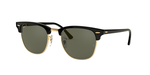 Clubmaster RB3016 Clubmaster RB 3016 901/58 Black Polarised