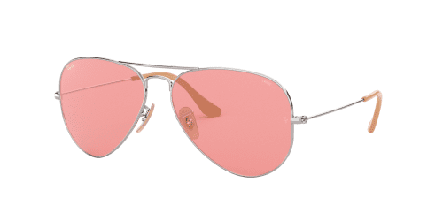 AVIATOR LARGE RB3025 AVIATOR LARGE RB 3025 9065V7 Silver