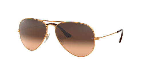 Ray-Ban Ray-Ban AVIATOR LARGE RB3025 9001A5 Shiny Light Bronze
