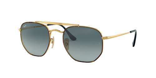 Ray-Ban RB3648 The Marshal 91023M Havana