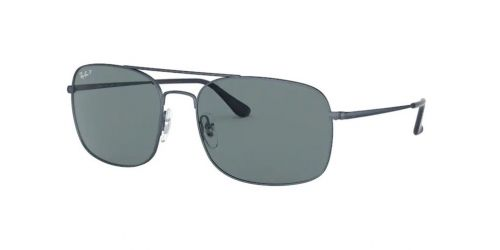 Ray-Ban RB3611 9169S2 Matte Blue Polarized