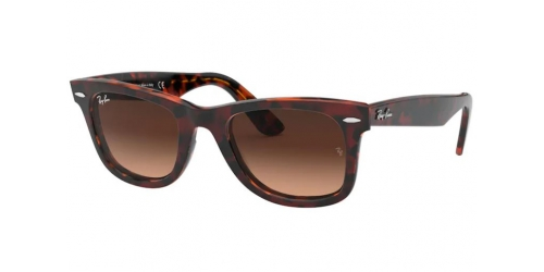 Ray-Ban Wayfarer RB2140 1275A5 Red Havana