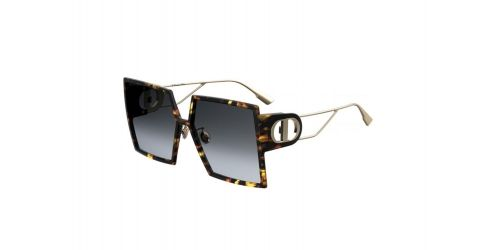 Christian Dior 30MONTAIGNE 30 MONTAIGNE 807/2K Black and Gold