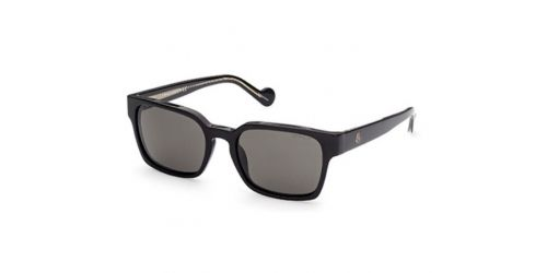 Moncler ML0143 01D Shiny Black Polarized