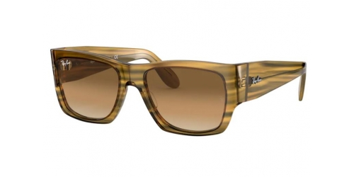 Ray-Ban Ray-Ban WAYFARER NOMAD RB2187 131351 Striped Yellow