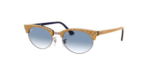 Ray-Ban CLUBMASTER OVAL RB3646 13063F Textured Beige