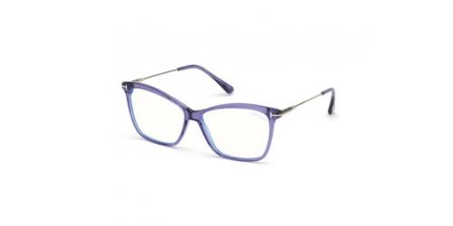 Tom Ford TF5687-B Blue Control TF 5687-B 081 Shiny Violet