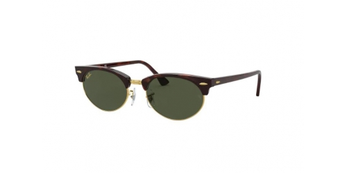Clubmaster Oval RB3946 Clubmaster Oval RB 3946 130431 Mock Tortoise
