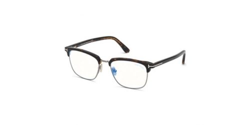 Tom Ford Tom Ford TF5683-B Blue Control TF 5683-B 052 Dark Havana w/ Clip-On