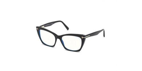 Tom Ford Tom Ford TF5709-B Blue Control TF 5709-B 001 Shiny Black