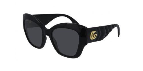 Gucci Gucci SEASONAL ICON GG0808S GG 0808S 001 Black