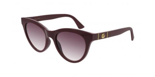 Gucci Gucci GUCCI LOGO GG0763S GG 0763S 003 Burgundy