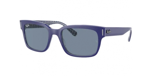 Ray-Ban Ray-Ban JEFFREY RB2190 131962 Blue on White and Blue