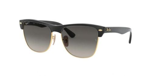 Ray-Ban Ray-Ban CLUBMASTER OVERSIZED RB4175 877/M3 Demi Gloss Black Polarized