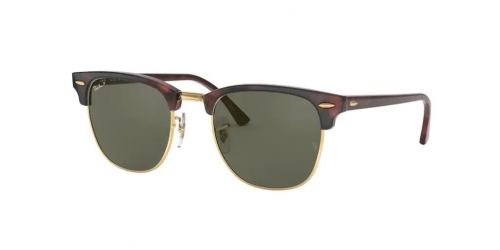 Ray-Ban Ray-Ban Clubmaster RB3016 990/58 Red Havana Polarized