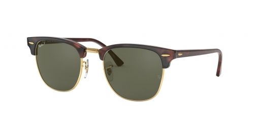 Clubmaster RB3016 Clubmaster RB 3016 990/58 Red Havana Polarized