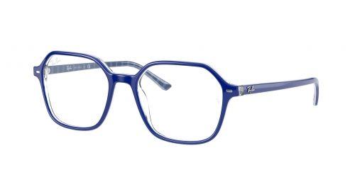 JOHN RX5394 JOHN RX 5394 8090 Blue on White