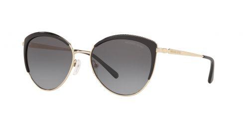 Michael Kors Michael Kors KEY BISCAYNE MK1046 1855T3 Light Gold/Black Polarized