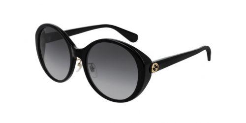 Gucci Gucci GUCCI LOGO GG0370SK GG 0370SK 001 Black