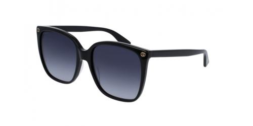 Gucci Gucci GUCCI LOGO GG0022S GG 0022S 001 Black