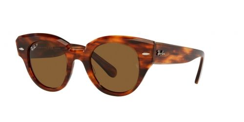 ROUNDABOUT RB2192 ROUNDABOUT RB 2192 954/57 Striped Havana Polarised