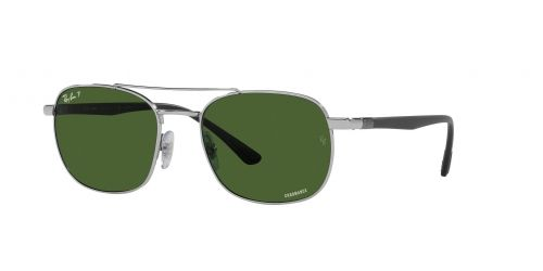 Ray-Ban Ray-Ban RB3670CH RB 3670CH 003/P1 Silver Polarized