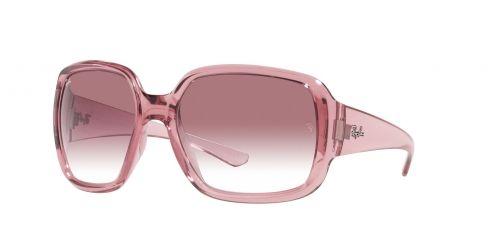 Ray-Ban Ray-Ban POWDERHORN RB4347 65338H Transparent Pink