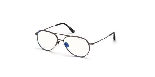 Tom Ford Tom Ford TF5693-B Blue Control TF 5693-B 008 Shiny Gunmetal