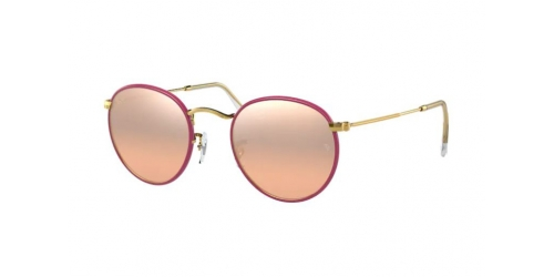 Ray-Ban Ray-Ban RB3447JM RB 3447JM 91963E Violet on Legend Gold