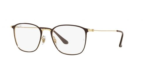 Ray-Ban Ray-Ban RX6466 2905 Matte Brown on Arista