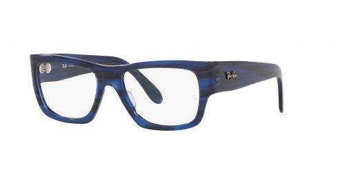 NOMAD WAYFARER RX5487 NOMAD WAYFARER RX 5487 8053 Striped Blue