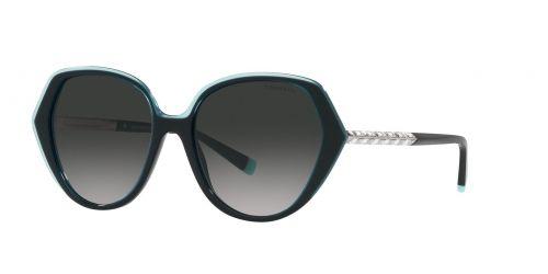 Tiffany Tiffany TF4179B TF 4179B 82793C Crystal Blue On Black